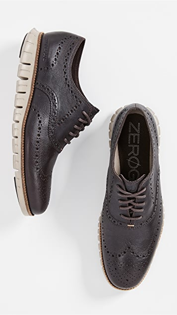 397f36800b1276 Cole Haan ZeroGrand Wingtip Oxford Shoes | EAST DANE