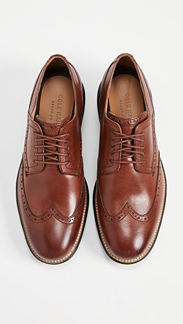 Cole Haan Original Grand Short Wingtip Oxfords