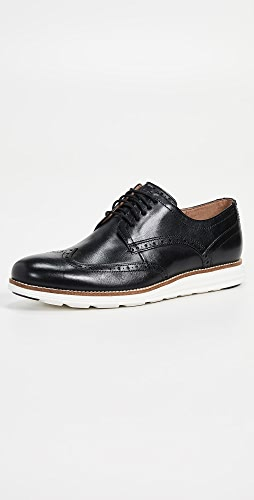 Cole Haan - Original Grand Short Wingtip Oxford Shoes