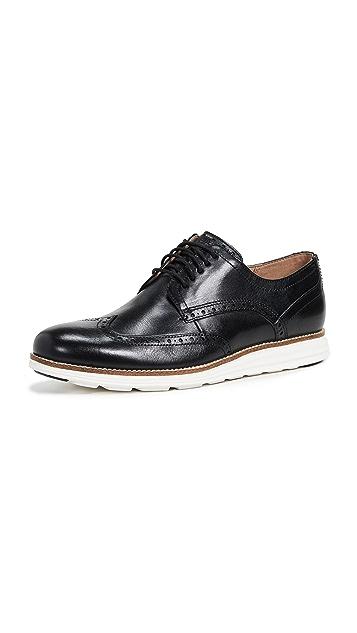 Cole Haan Original Grand Short Wingtip Oxford Shoes
