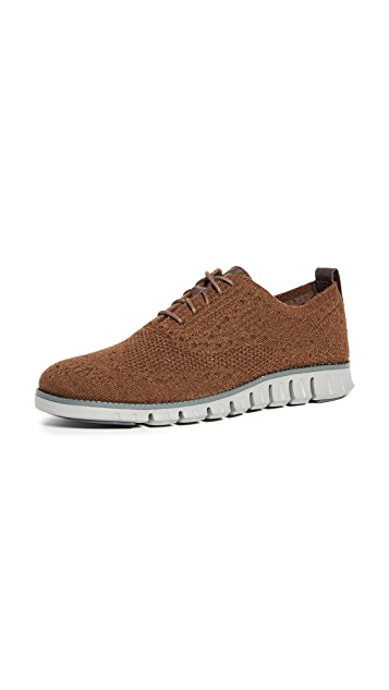 Cole Haan Zerogrand Stitchlite Wool Oxfords