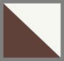 Dark Brown/White Perf