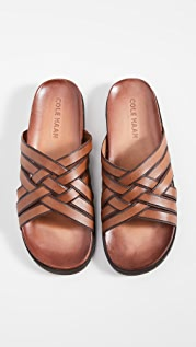 Cole Haan Feather Craft Slide Sandals