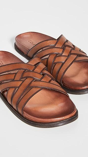 Cole Haan Feather Craft Slide Sandals