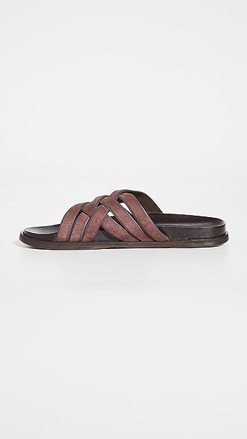 Cole Haan Feathercraft Slide Sandals