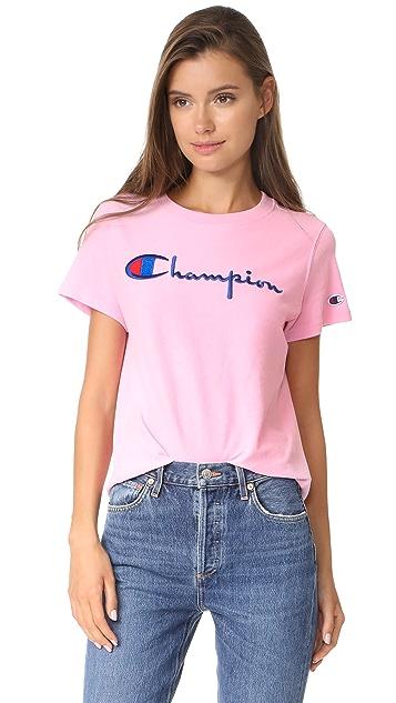 586a1d1e Champion Premium Reverse Weave Crew T Shirt | SHOPBOP