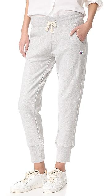 1ee75db42a35 Champion Premium Reverse Weave Rib Cuff Pants