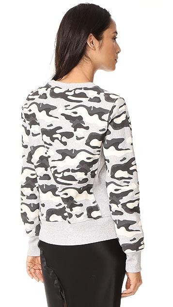 Champion Premium Reverse Weave Camo Crew Neck Sweatshirt