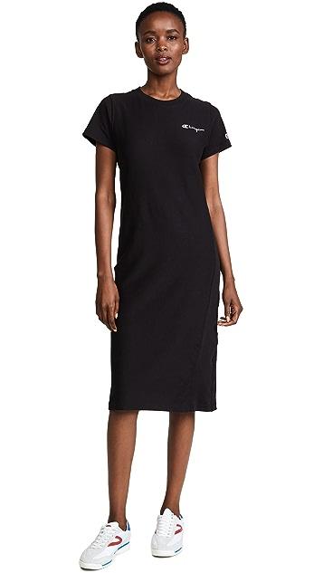 Champion Premium Reverse Weave T-Shirt Dress