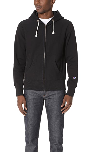 bd18fe0f Champion Premium Reverse Weave Zip Hooded Sweatshirt | EAST DANE