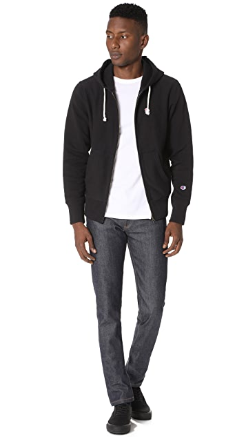 Champion Premium Reverse Weave Zip Hooded Sweatshirt
