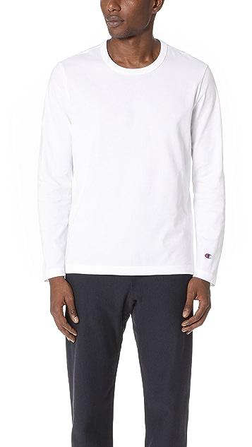 7f3df880 Champion Premium Reverse Weave Long Sleeve Shirt | EAST DANE