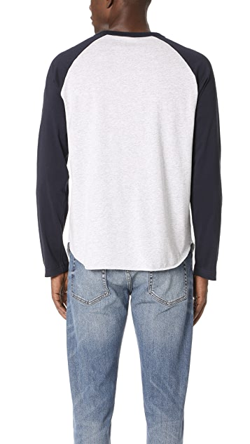 Champion Premium Reverse Weave Long Sleeve Raglan Shirt