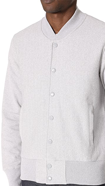 Champion Premium Reverse Weave Jersey Stadium Jacket
