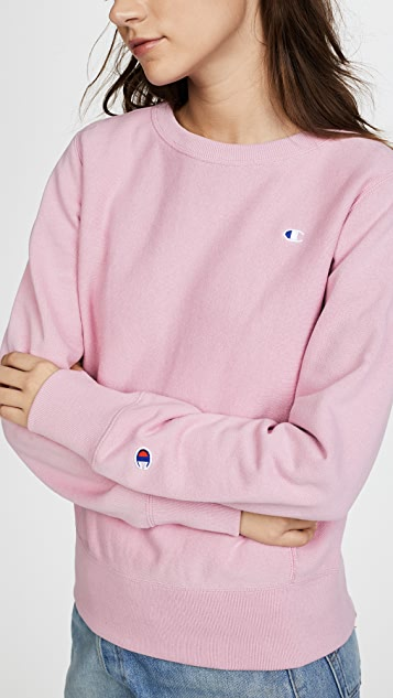 Champion Premium Reverse Weave Reverse Weave Terry Crew Neck Sweater