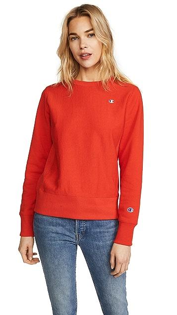 Champion Premium Reverse Weave Reverse Weave Terry Crew Neck Sweatshirt