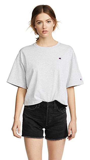 Champion Premium Reverse Weave Light Jersey Tee