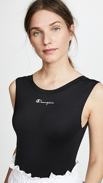 Champion Premium Reverse Weave Jersey Bodysuit