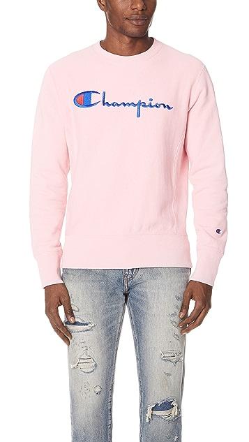 Champion Premium Reverse Weave Terry Sweatshirt
