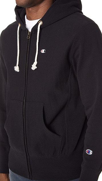 Champion Premium Reverse Weave Zip Hoodie