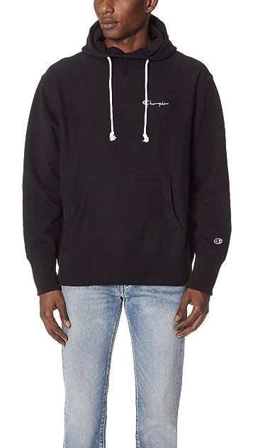 Champion Premium Reverse Weave Deconstructed Pullover Hoodie