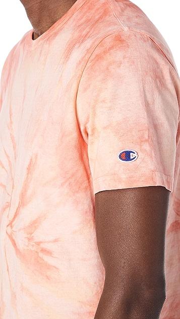 Champion Premium Reverse Weave Tie Dye Tee