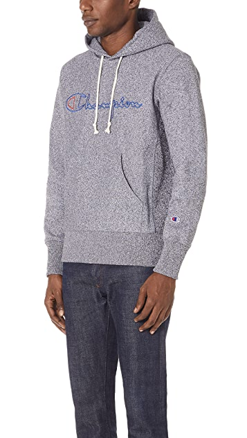 Champion Premium Reverse Weave Jaspe Hooded Sweatshirt