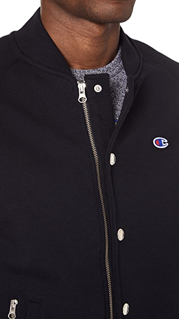 Champion Premium Reverse Weave x Beams Bomber Jacket