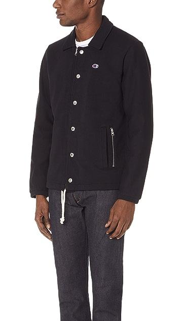 Champion Premium Reverse Weave x Beams Coach Jacket