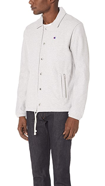 Champion Premium Reverse Weave x Beams Coach Jacket