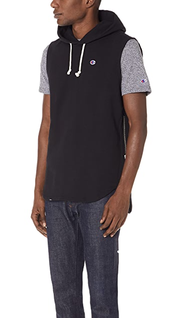 Champion Premium Reverse Weave x Beams Hooded Sweatshirt
