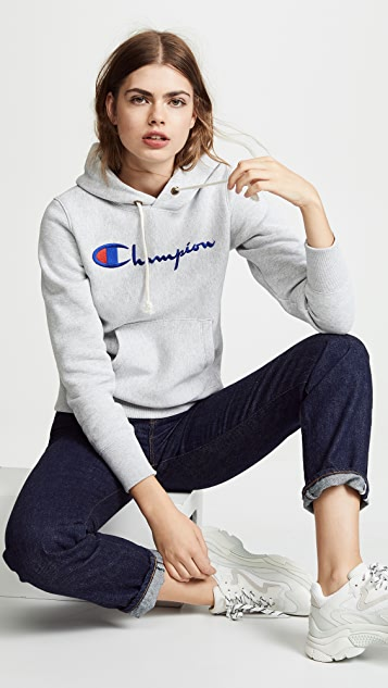 Champion Premium Reverse Weave 连帽运动衫