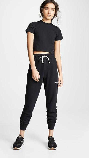Champion Premium Reverse Weave Rib Cuff Sweatpants