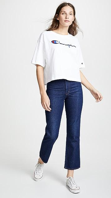 Champion Premium Reverse Weave Maxi T-Shirt