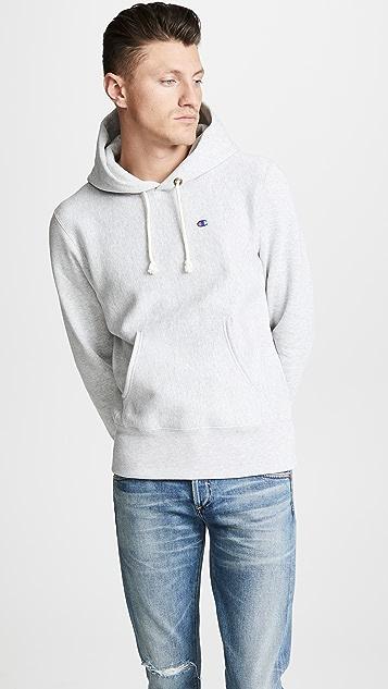 Champion Premium Reverse Weave Hooded Sweatshirt