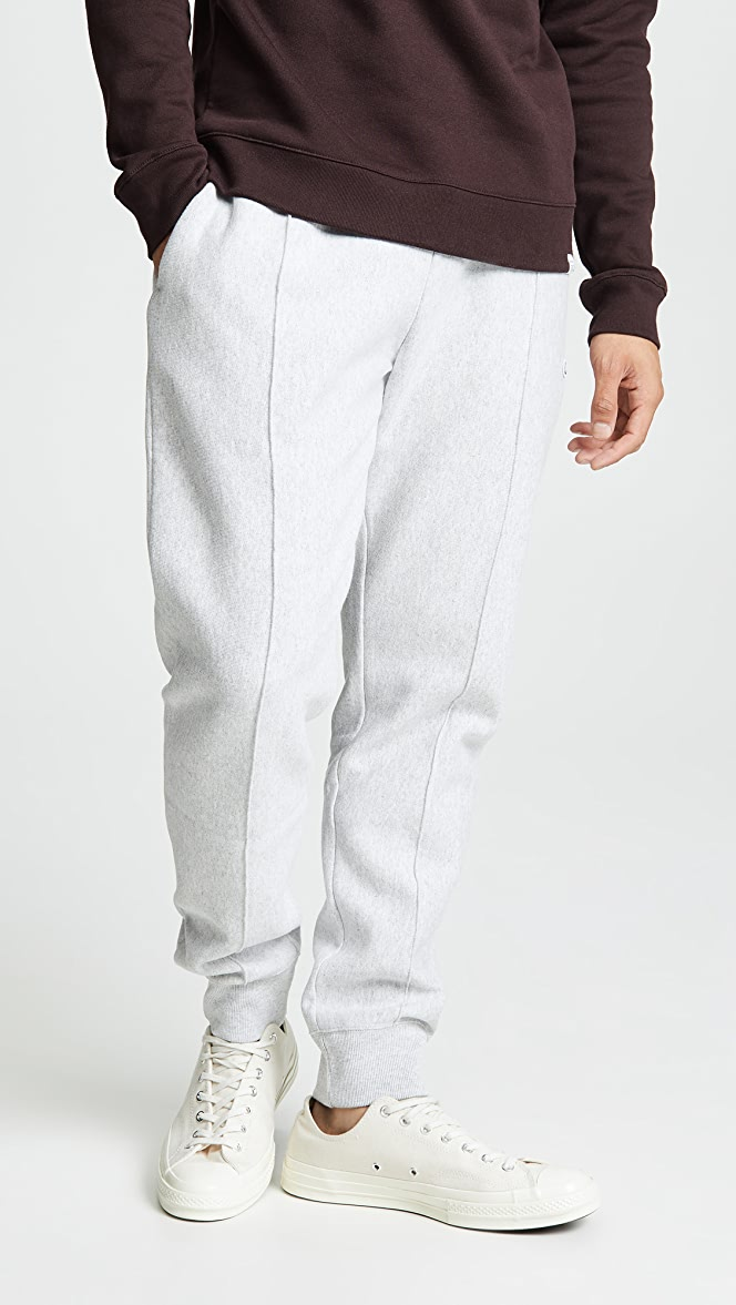 Champion Rib Cuff Sweat Pants Light Grey