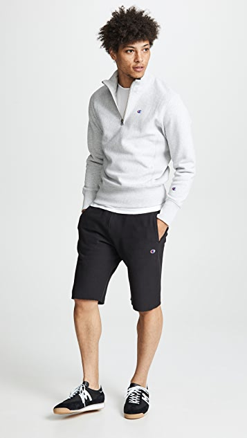 Champion Premium Reverse Weave Half Zip Sweatshirt