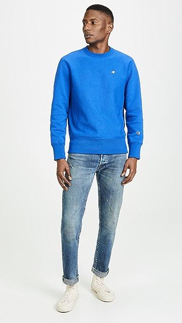 Champion Premium Reverse Weave Crew Neck Sweatshirt