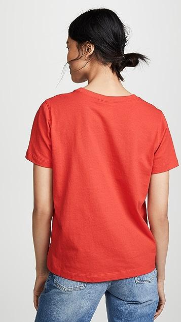 Champion Premium Reverse Weave 圆领 T 恤