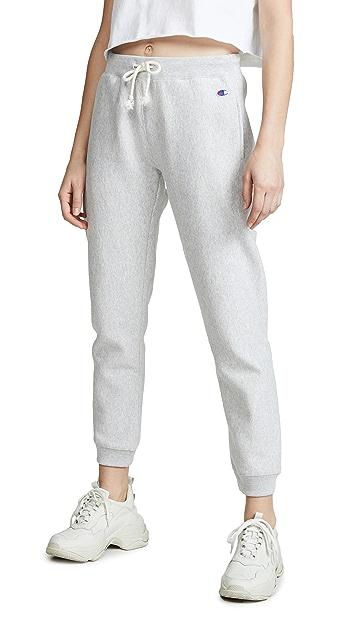 Champion Premium Reverse Weave Elastic Cuff Sweatpants