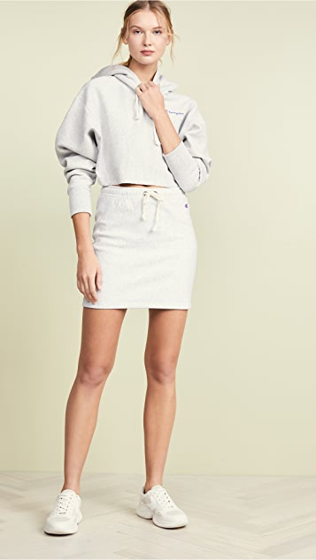 Champion Premium Reverse Weave Ribbed Terry Skirt