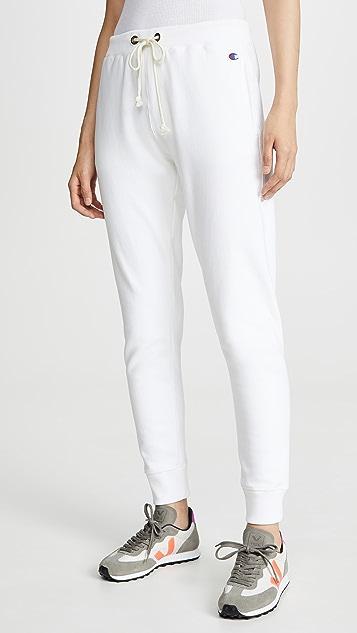 Elastic Cuff Pants by Champion Premium Reverse Weave