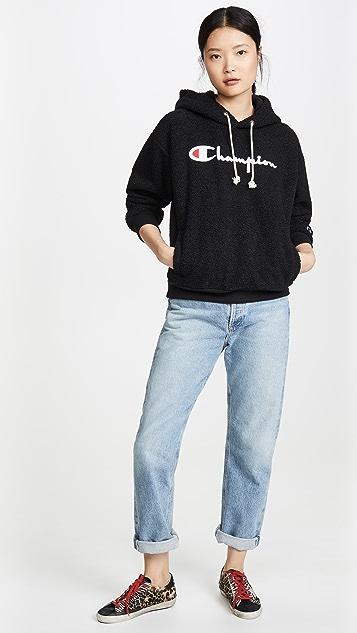 Champion Premium Reverse Weave Big Script Lamb Sweatshirt