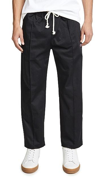 Champion Premium Reverse Weave Straight Hem Twill Sweatpants