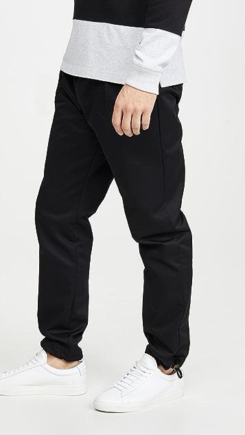 Champion Premium Reverse Weave Straight Hem Slim Woven Joggers