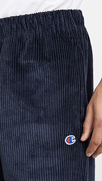 Champion Premium Reverse Weave Corduroy Straight Hem Pants