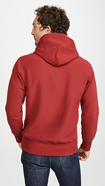 Champion Premium Reverse Weave Small Script Hooded Sweatshirt