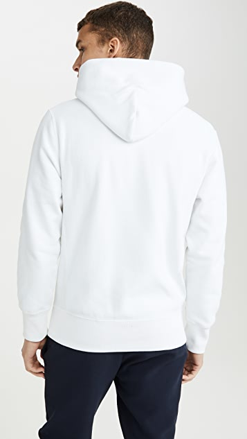 Champion Premium Reverse Weave Big Script Logo Hooded Sweatshirt