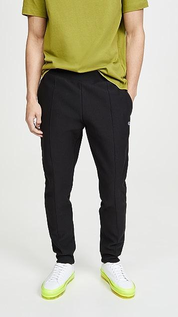 Champion Premium Reverse Weave Rib Cuff Track Pants