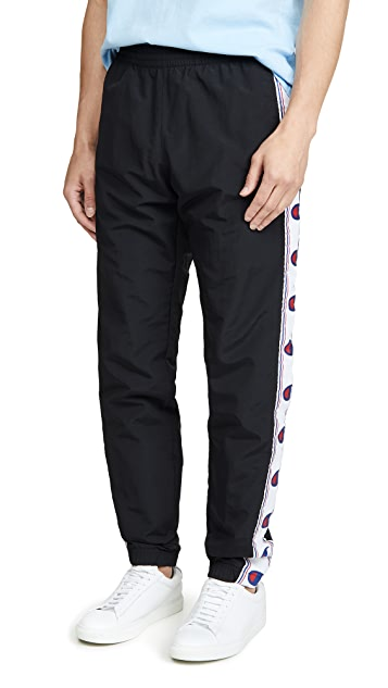 Champion Premium Reverse Weave Taped Logo Track Pants